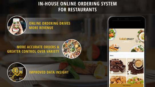 Benefits of In-House Online Food Ordering System for Restaurants and Cafe