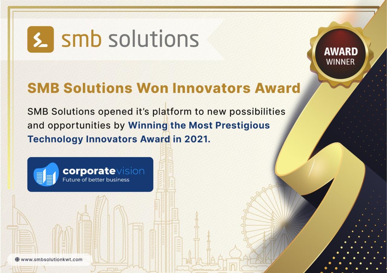 corporatevision-News-SMB-Solution-Award
